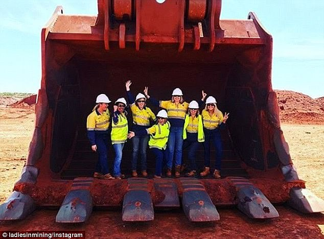 China is moving to wean itself off Australia's lucrative iron ore exports and will be relying on a Sydney professor's invention to make this happen. Pictured are Western Australian mining workers
