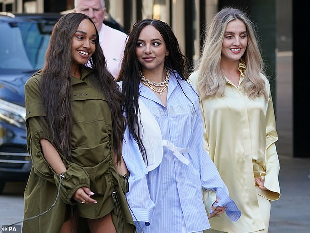 Views: On Jesy's exit, Jade said: 'Jade said: 'We're never going to force each other to do anything we don't want to do, and we supported that decision'