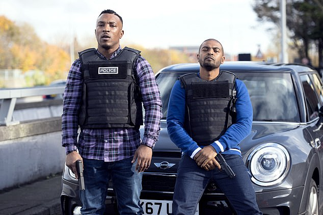 Clarkehas starred in three series of Bulletproof, an East London crime drama, (pic) with filming on the fourth set to start later this year