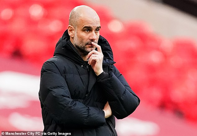 City boss Guardiola put their achievements this campaign down to the squad's resolve
