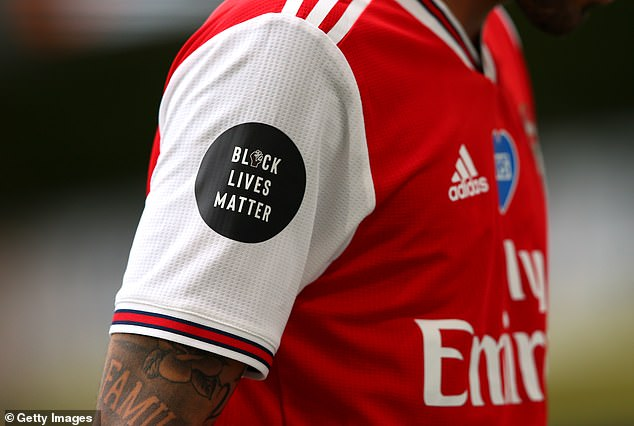 Henderson contributed the idea of a BLM logo on shirt sleeves, while De Bruyne suggested having the name of the organisation printed across the back of players' shirts