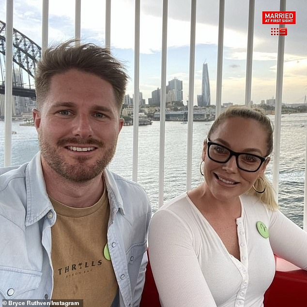 Flying high: Melissa's dramatic makeover post was quickly inundated by comments from her co-stars and fans. Pictured with Bryce