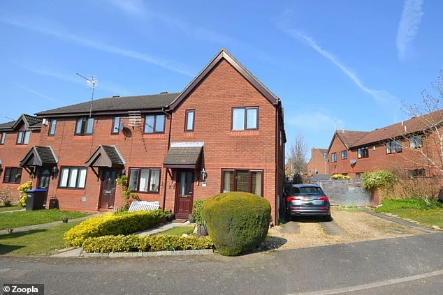 This three-bedroom semi-detached house Claregate, Northampton is for sale for £245,000, via estate agents Your Move