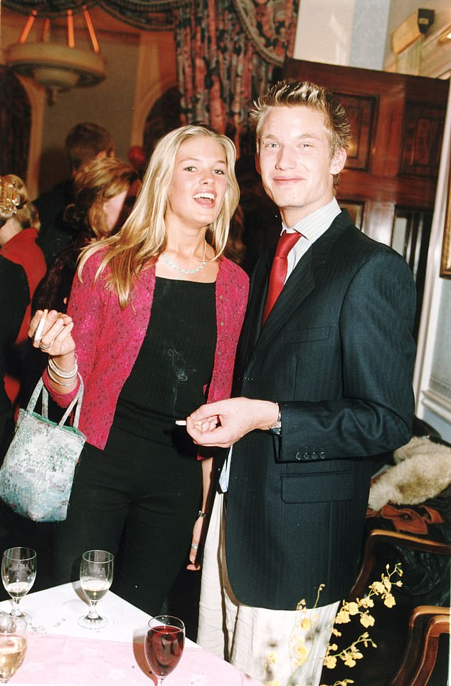 Isabella was an It Girl with all the royal connections and she was tipped to have caught the eye of Prince William - before she went on to marry beau Sam Branson (pictured, aged 19)