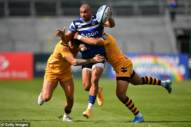 Bath centre Jonathan Joseph is going in search of the first club prize of his career