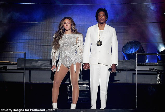 Lasting romance: JAY-Z and Beyoncé began dating in the early 2000s when she was still part of girl group Destiny's Child. They secretly married in 2008