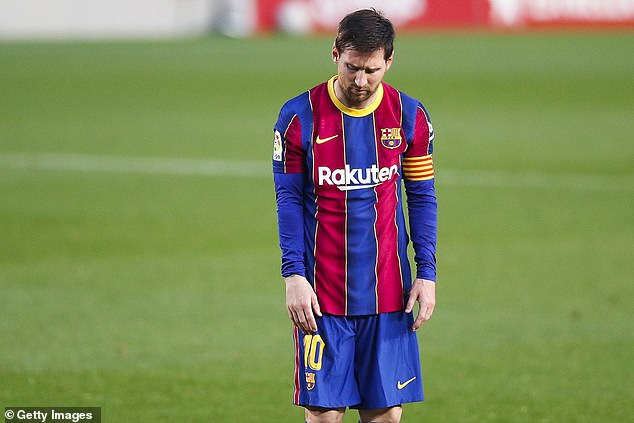 Pursuing a move for Lionel Messi, who is out of contract this summer, isn't a priority for PSG