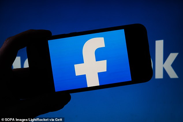 The blackout comes as Facebook were again accused of turning a blind eye to discrimination