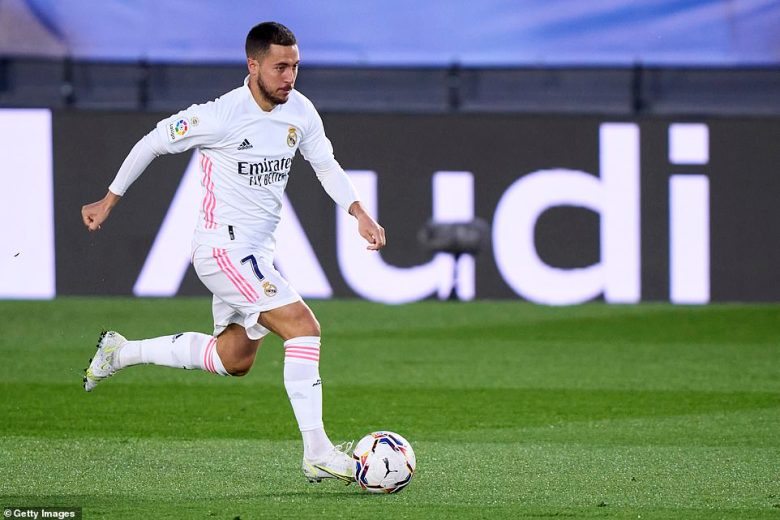 Eden Hazard started for Zinedine Zidane's men after what has been another injury-hit campaign for the Belgium international