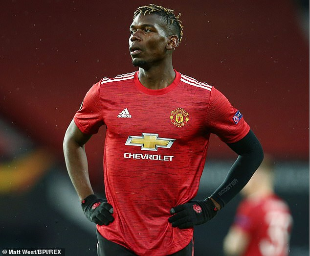 Manchester United are prepared to sell  Paul Pogba if he does not agree a new deal