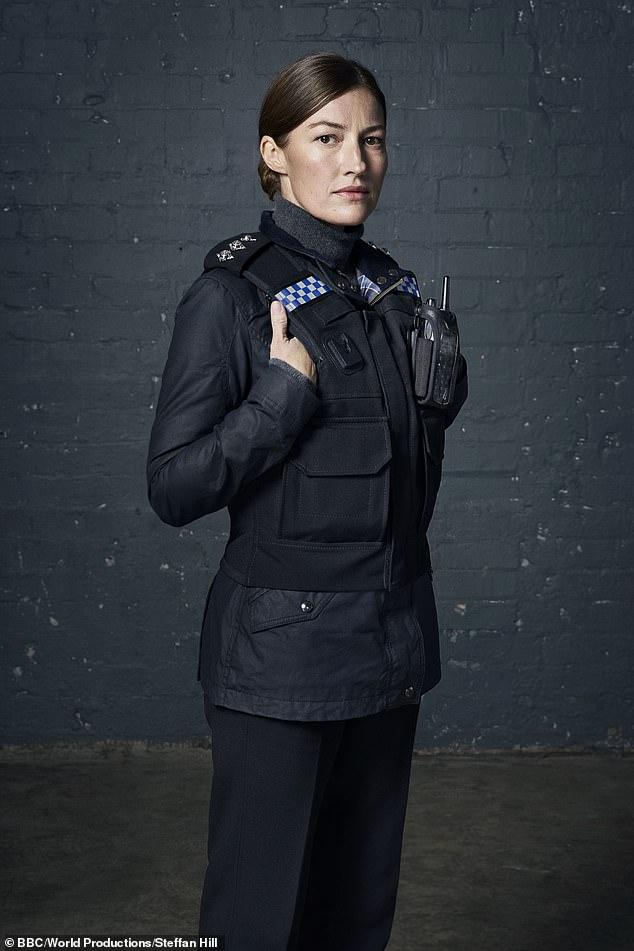 Exciting: More than 11 million people are expected to tune in when the fate of Line Of Duty's 'bent copper' Joanne Davidson is revealed on Sunday