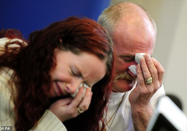 Mairead and Mick roused the suspicions of journalists and investigators with their 'crocodile tears during a press conference about the blaze in May 2012