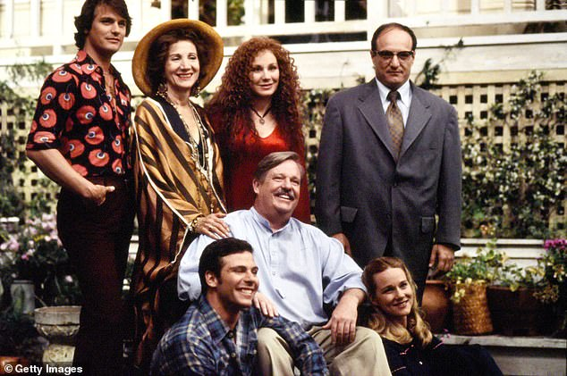 She is pictured second from left in the 1993 miniseriesTales of the City withChloe Webb, Laura Linney and Paul Gross