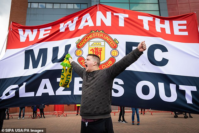 Manchester United fans stormed Old Trafford and forced the Liverpool game to be cancelled