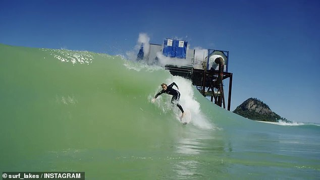 Beginner, intermediate and expert surfers can enjoy the wave pools' '5 wave' technology, which produces five different levels of waves simultaneously around the lake