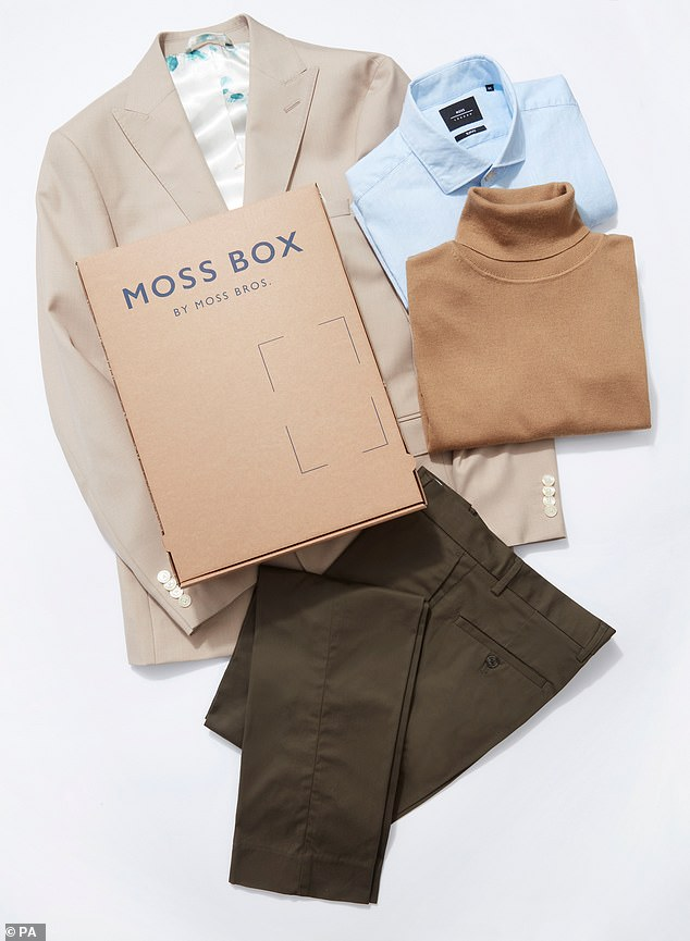 The Moss Box service is thought to be the first of its kind for men in the UK. It sees the company move away from its traditional heritage of formal wear