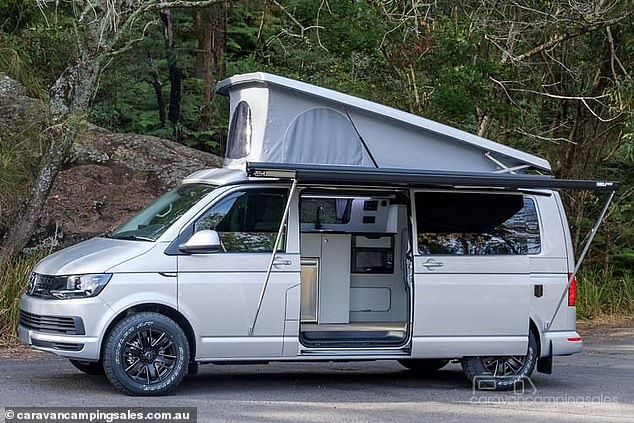 Australians can have a water view in style for a tenth the price of a typical Sydney house if they buy a home with four wheels. For $94,990 drive away, an aspiring traveller can buy a 2021 model Volkswagen Transporter converted into a camper than sleeps four people