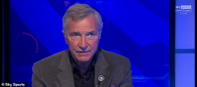 Greame Souness criticised the United fans who threw flares and bottles during the protest