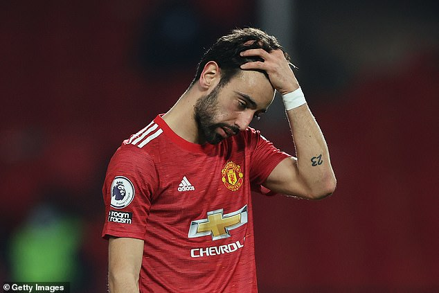Manchester United talisman Bruno Fernandes ranked 15th in the standings for this season