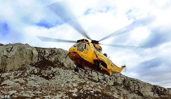 The Sea King aircraft - known as the 'Junglies' as a nod to the historical role helicopter commando squadrons played in Borneo in the 1960s - was fully retired in 2018