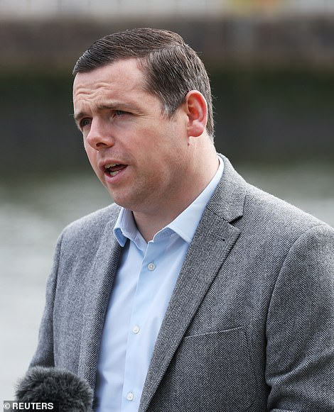 Douglas Ross, the most senior Tory north of the border, said yesterday that the Prime Minister should 'of course' quit if he did not abide by the standards of conduct expected of ministers