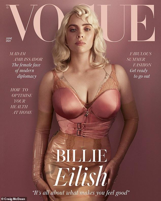 Billie Eillish Vogue