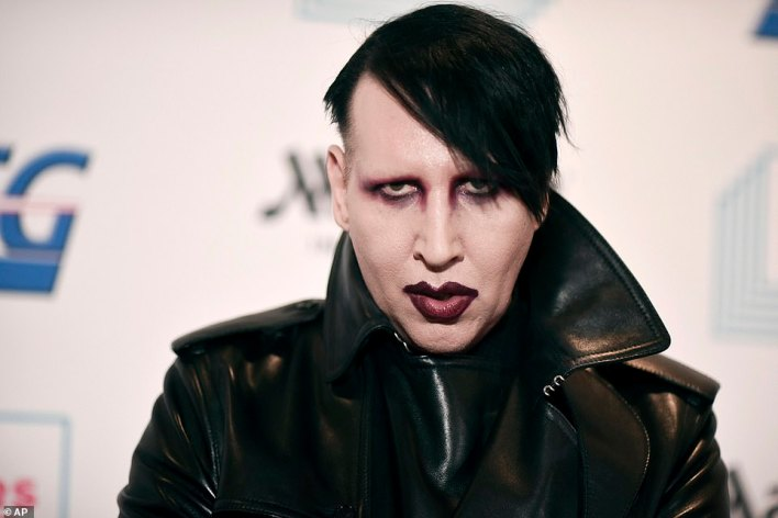 Rachelle met him in 1987 when she was a 22-year-old model and described him as shy, quiet and immature - before he formed a band and adopted the dark and twisted persona of Marilyn Manson