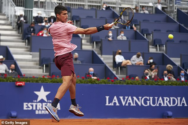 The Spaniard's coach has admitted the huge expectation already on the youngster is not ideal