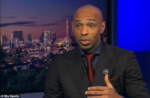 Thierry Henry is throwing his weight behind Daniel Ek's bid to takeover at his old club Arsenal