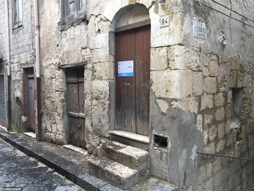 Historic:In Mussomeli, buyers are also allowed to do whatever they want to the interiors of their homes, but the façades must be kept as-is