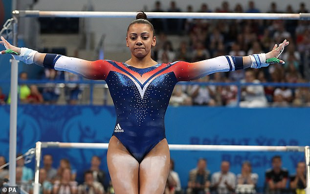 British gymnast Becky Downie suffered a blow to her Olympic hopes in an equipment row