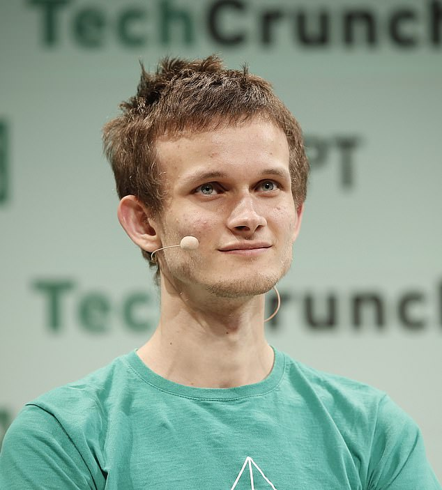 Vitalik Buterin, 27, reached billionaire status after digital currency Ethereum surged above a $3000 price mark today
