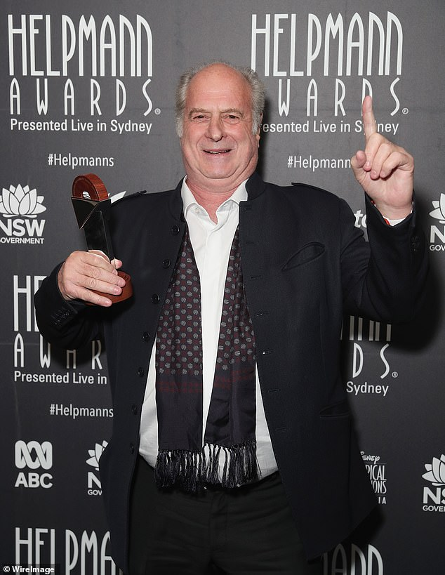Legend: Michael Gudinski, who was widely regarded as the 'father of the Australian music industry', died in his sleep on March 2 at the age of 68. Pictured in July 2018
