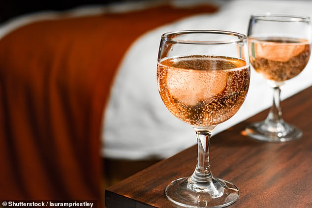 A greater number are having their first drink in the morning and more are feeling guilty or remorseful about their habit. Pictured: Stock image