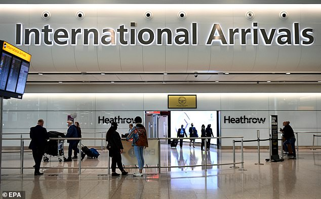 Officials are also said to be mulling scrapping the ten-day home quarantine requirement for arrivals from amber countries