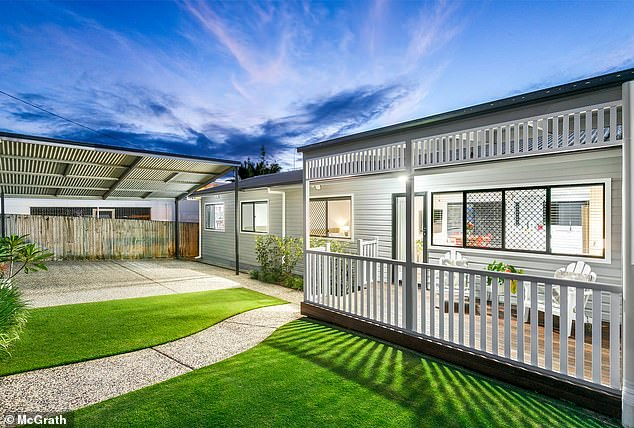 Gone! Aussie gold medallist Sally Pearson and her husband Kieran have made a tidy $240,000 profit as they sell their renovated pad on the Gold Coast for $950,000