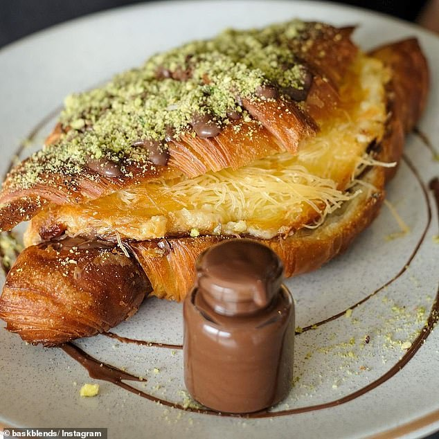 An Australian cafe has raised the bar for croissants everywhere - and is offering a sweet-cheese layered, sugar-syrup-soaked, Nutella-loaded creation