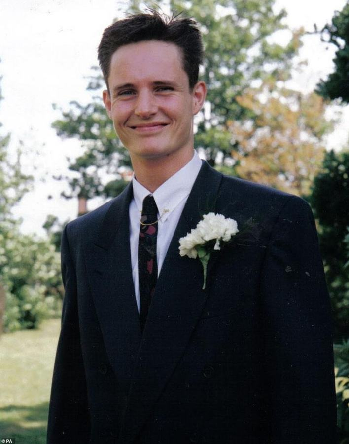 Mr Lubbock, 31, (pictured) had been attending a party at Barrymore's luxury home in Roydon with eight other people when he died