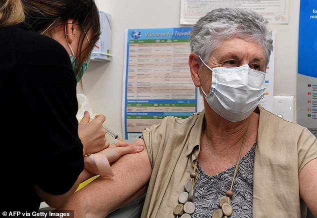 On Monday, those over 50 became eligible for the AstraZeneca vaccine at general practice respiratory clinics and state and territory vaccination clinics