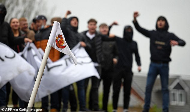 The Premier League last night said it 'condemned' scenes of violence and breaches of Covid rules in scenes which it said 'should have no place in football'.
