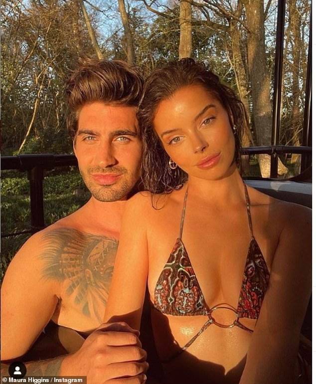 Shock: Love Island stars Maura Higgins and Chris Taylor have split up