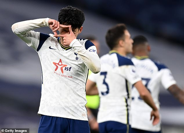 Son Heung-min was again a menace throughout for Tottenham against the relegated Blades