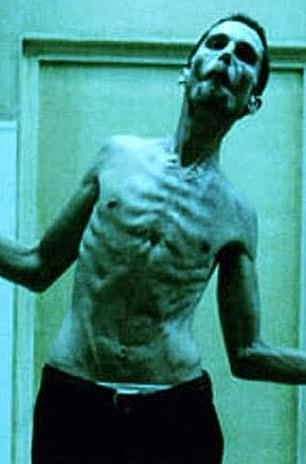 Master of transformation: Christian Bale has shed and gained hundreds of pounds over the years for the sake of his art. None was more dramatic than the skeletal frame he debuted in 2004 psychological thriller, The Machinist