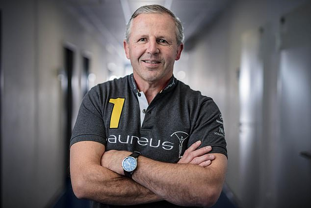 Sean Fitzpatrick, chairman of Laureus (pictured), weighed in on the big calls for the Lions