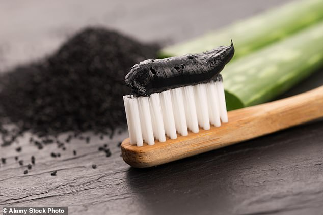 Recipes for 'natural' homemade toothpaste shared online are a health hazard and should be avoided, researchers from the University of Nantes, France, have warned [stock photo]