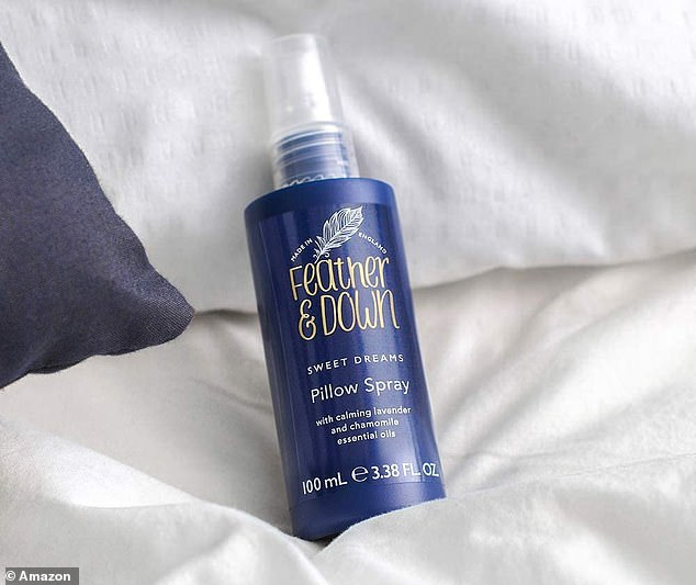 Thousands of shoppers swear by the Feather & Down Sweet Dream Pillow Spray for easing them into a deep sleep - it's now just £4.50 on Amazon