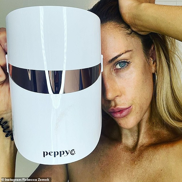 Beauty duty:Her callout Instagram call out for companies to 'DM' or direct message her comes after she was recently called out putting her newly gained Instagram popularity to use by promoting a skin therapy mask on Tuesday