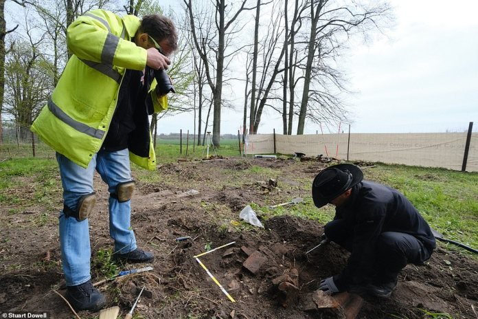 Archaeologists are expected to be excavating the site for most of May in the hope of finding the long lost treasures
