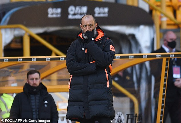 Nuno Espirito Santo revealed some players have felt the effects of the virus after isolation