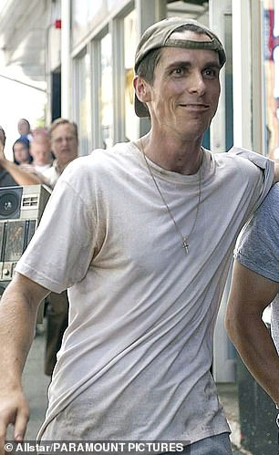 Bale lost 30lbs for his performance as Dicky Eklund, a boxer-turned-trainer, for which he won a Best Supporting Actor Oscar